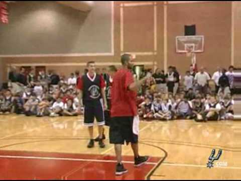 Tony Parker Spurs Camp Appearance