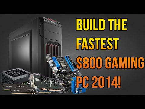 BUILD THE FASTEST $800 GAMING PC OCTOBER 2014! i5 4690k. R9 280x