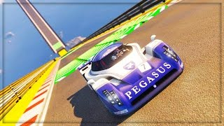 GTA 5 DLC UPDATE!! - HARDEST STUNT RACES ONLINE (GTA 5 ONLINE DLC GAMEPLAY)