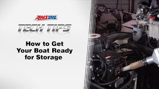 AMSOIL Tech Tips: How To Get Your Boat Ready for Storage