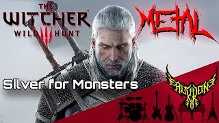 The Witcher 3: Wild Hunt - Silver for Monsters (feat. Rena) 【Intense Symphonic Metal Cover】
