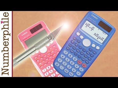 Calculator Unboxing #2 (Casio fx) - Numberphile
