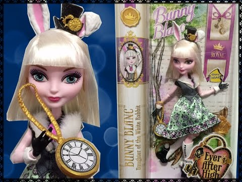 Bunny Blanc Review & Unboxing - New Ever After High