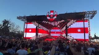 Steve Aoki Daddy Yankee Elvis Crespo A Ultra Music Festival 2018 Miami 20th Aniversary