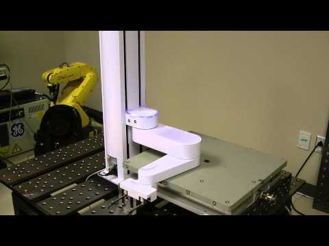 Impact tests with Precise Automation's PF400 collaborative SCARA robot