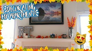 Decorating My New Apartment! Fall Home Decor Haul!