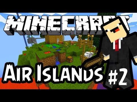 Remedy em Air Islands Survival #2 - MINECRAFT Mapas dos Fãs!