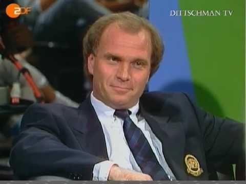 Daum vs. Hoeneß 1989 KOMPLETT (Teil 1)