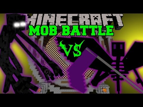 MUTANT ENDERMAN VS ENDER REAPER - Minecraft Mob Battles - Mods