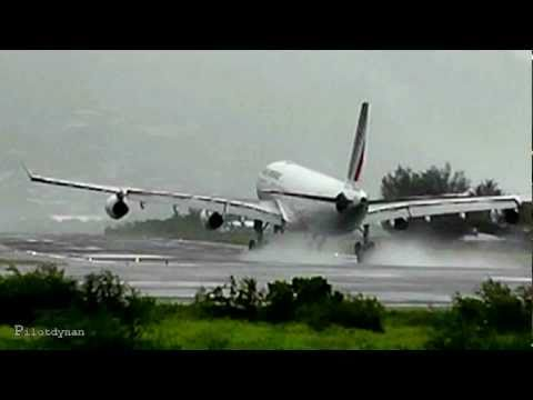 Heavy rain at St Maarten (HD1080p)