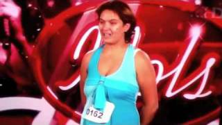 SA Idols 2010 - Girl Farts Live on TV