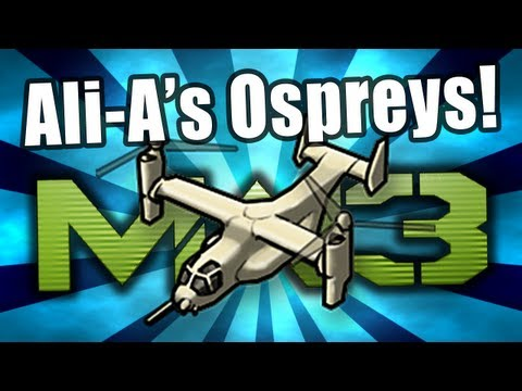 MW3 - Ali-A's Ospreys! Ep.4 - (Osprey Gunner Modern Warfare 3 Multiplayer Gameplay)
