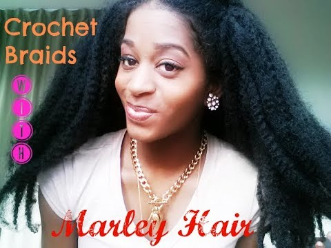 Crochet Braids Using Bobby Pin : Crochet Braids with Marley Hair ? - YouTube