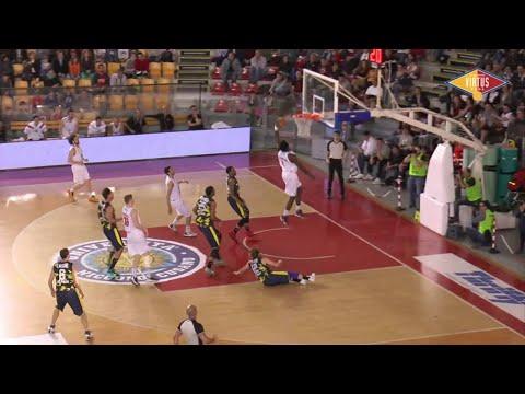 Acea Virtus Roma-Basket Recanati - Gli highlights di Gara 1