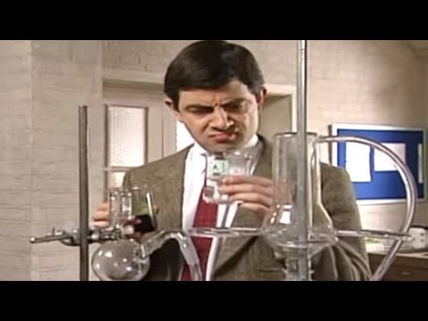 Mr Bean - Chemistry experiment
