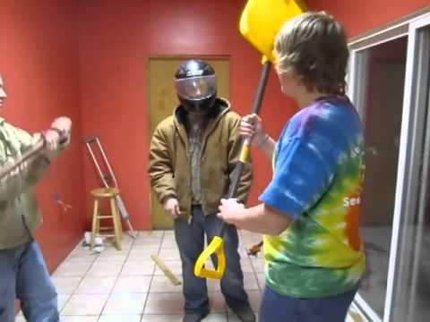 Amateur Helmet Testing (2-25-11)