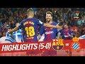 Resumen de FC Barcelona vs RCD Espanyol (5-0) MP3