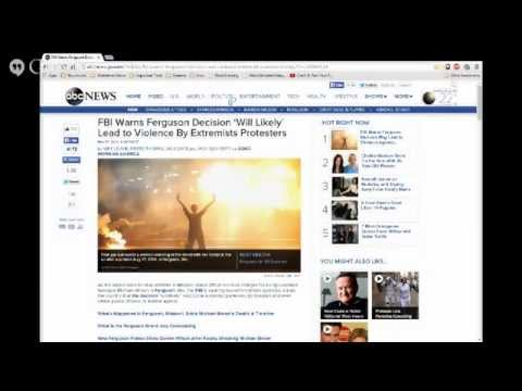 The Watchman News Ferguson Michael Brown Update School Teaches Anal Sex NATO Russia Anonymous
