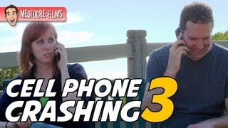 CELL PHONE CRASHING at a PARK!