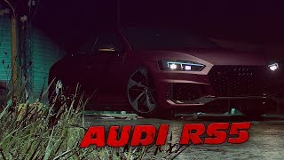 Audi RS5 2018 in the moonlight⭐ Hip Hop GTA V Cinematic 4K
