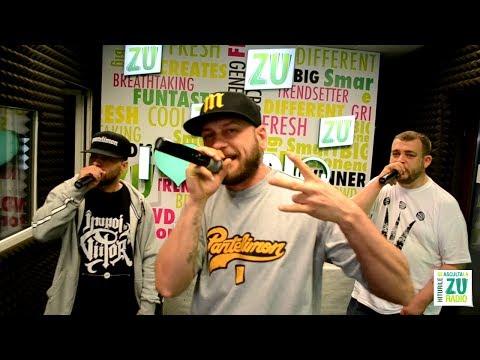 B.U.G. Mafia - Cat poti tu de tare (Live la Radio ZU)