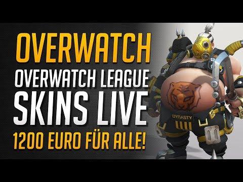 ALLE OVERWATCH LEAGUE SKINS | Über 1200 Euro für alle Skins | Gratis Skin ★ Overwatch Deutsch