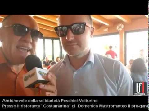 Partita di solidarietà tra Peschici e Volturino. Le immagini e l'intervista a Domenico Mastromatteo