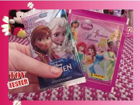 Cromos de Frozen y de Princesas Disney de Panini por Toy Tester