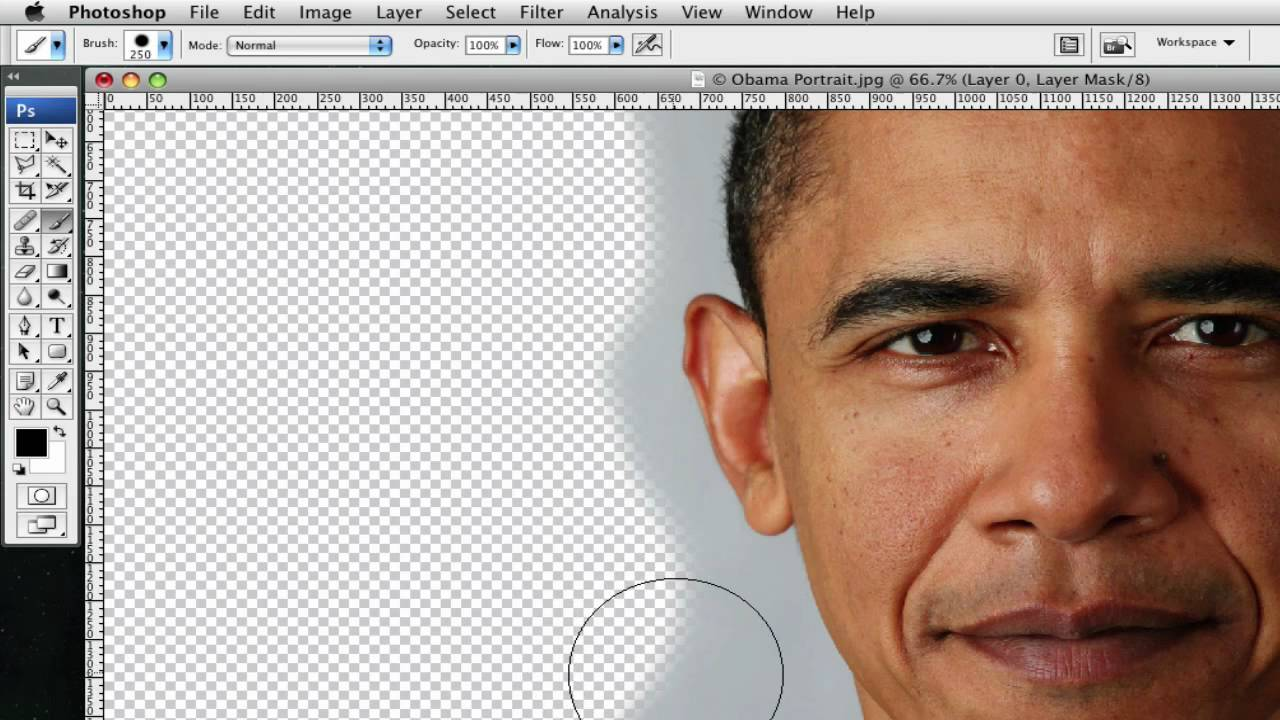 Crop (Cut Out) an Image: Photoshop - YouTube