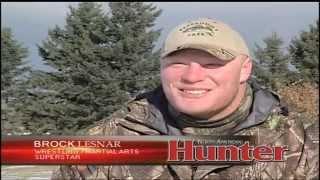 Brock Lesnar Hunting WhiteBuck