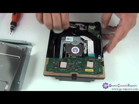 PS3 (SLIM) - CECH-2002x - 120GB Laser Mechanism Replacement Tutorial