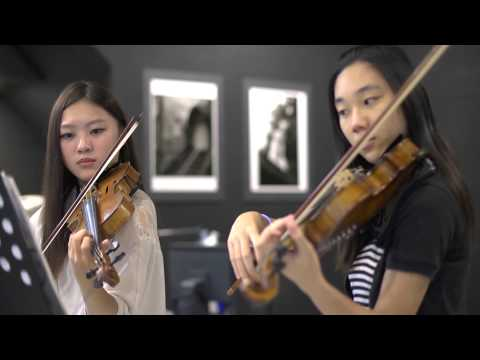 Canon in D violin duet - Tiffany Music Videos