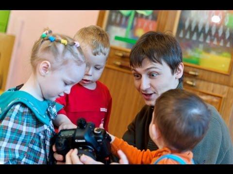Видео как правильно снимать детей