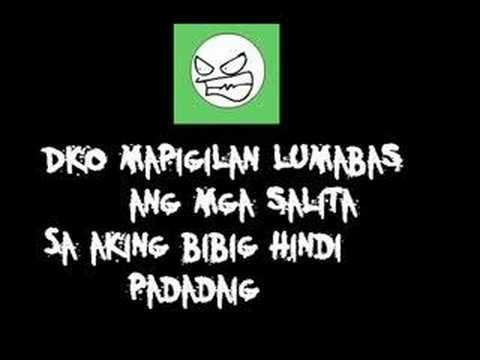 Bagsakan With Lyrics video