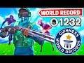 WORLD RECORD ZOMBIE HUNTER in Fortnite!