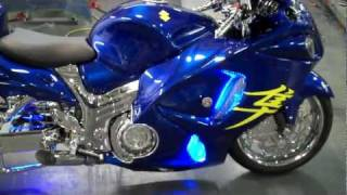 HAYABUSA FOR SALE ALLTHINGSCHROME 2011 BUSA BLUE TRICKED OUT SPECIAL