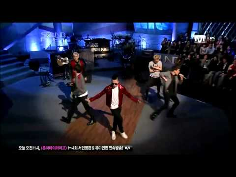 Bigbang - Tonight (apr,2,2011) video
