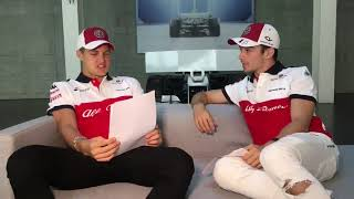 We've got the perfect remedy for your MondayBlues!   Watch @Charles Leclerc @Ericsson Marcus going j