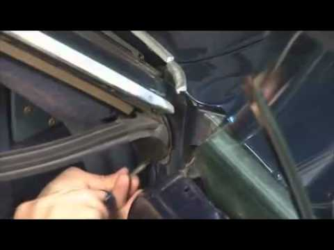How to install quarter window leading edge, lock pillar ...