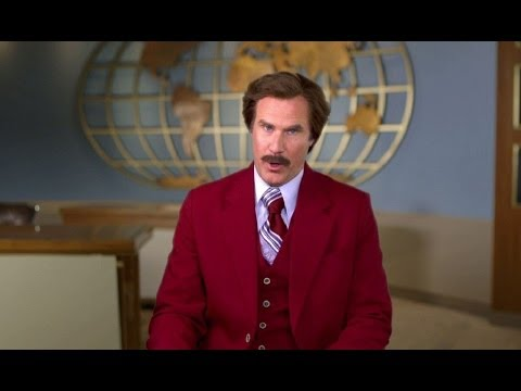 Anchorman 2 - A Special Halloween Message from Ron Burgundy