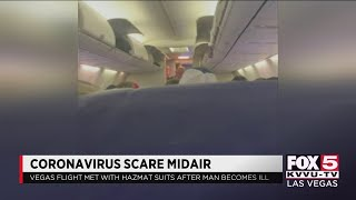 Coronavirus scare on flight from Las Vegas to Baltimore