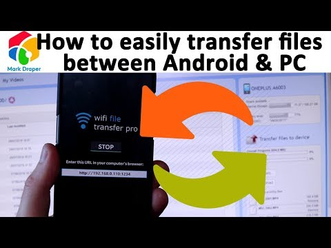 How to easily transfer files from Android phone to computer