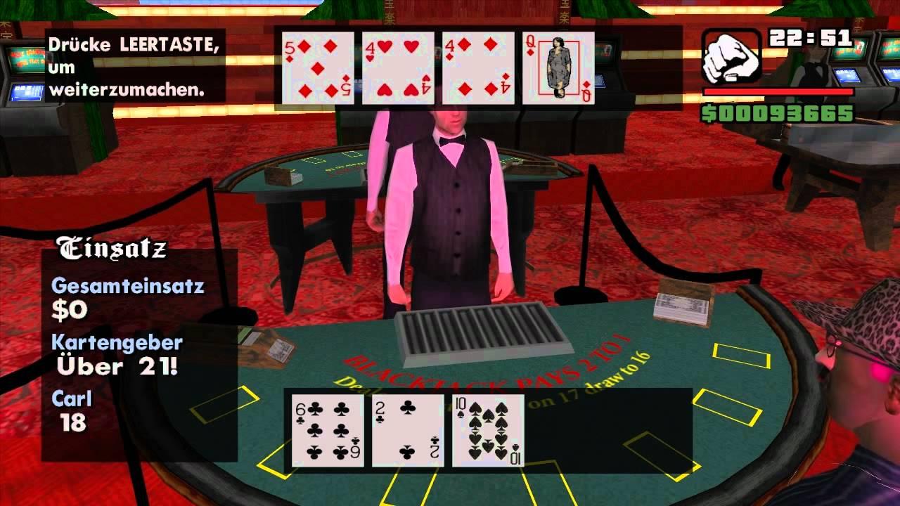 San andreas casino map casino at atlantis