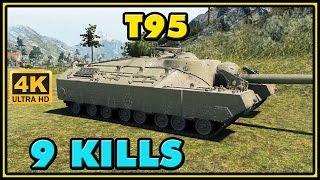 World of Tanks | T95 - 9 Kills - 9.1K Damage