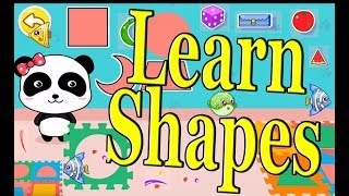 Kids Learn Shapes with Baby Panda by Babybus | Fun Educational