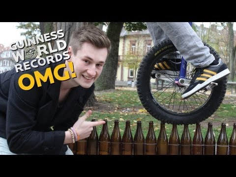 Beer Bottle Unicycle Record Holder // On The Road (Ep 19)