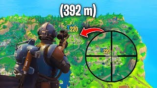 Top 10 LONGEST CRAZIEST SNIPER Shots in Fortnite History!