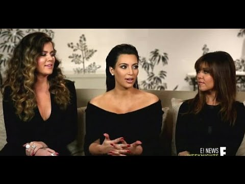 Kim Khloe And Kourtney Kardashian React To Dad Bruce Jenner Coming Out In Interview