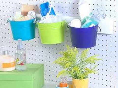 Como hacer muebles de ba o con material reciclado ideas originales para decorar tu casa youtube for Accesorios para bano originales