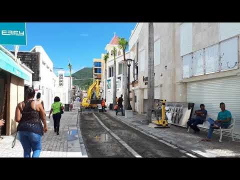 Philispsburg st Maarten 24 nov 2017 after hurricane irma